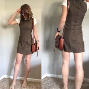 VTG 90's tweed mini dress